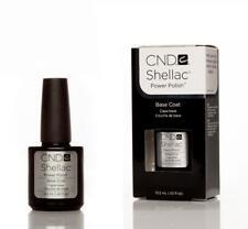 CND Shellac UV gel Nail Polish Genuine Big 12.5ml Base Coat Only FAST DELIVERY