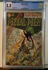 Metal Men #4--CGC 3.5--Fourth issue!  Ross Andru art!