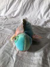 Ty Beanie Baby Iggy the Iguana Rainbow Tie Dye Lizard Retired Collectible