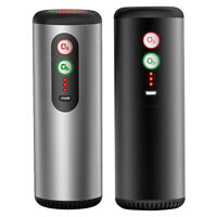 Portable Car Air Purifier Rechargeable Ionizer Ozone Generator Air Cleaner #G