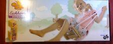 Eichhorn Brettschaukel für Kinder aus Holz höhenverstellbar Neu