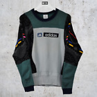 Adidas Coogi Style Reworked Sweatshirt Small Pullover Knitted Sweater Jumper Top