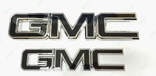 Custom Black Chrome Grille Tailgate Emblem 2015-19 GMC Sierra 1500 2500HD 3500HD