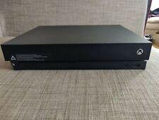 MINT Microsoft Xbox One X 1TB Black Console with Original Box