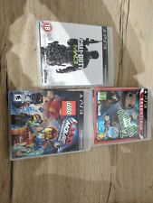 Playstation 3 game bundle. COD MW3, little big planet 2 and Lego movie videogame