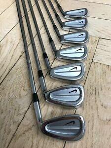 Nike Golf Eisen - Miura Prototype Golf Irons 3-9 Tour Issue - Collectors - Rare