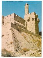 Jerusalem: The Citadel, Tower of David. Israel, Palestine Rare Postcard