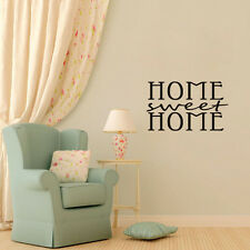 HOME SWEET HOME Mural Quote Words Removable Wall Sticker Vinyl Decal Home Decor