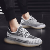 Men's Breathable Athletic Sneakers Casual Running Sport Basketball Shoes Fashion