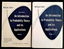 An Introduction to Probability Theory and Its Applications 2 vols BOOK Maths