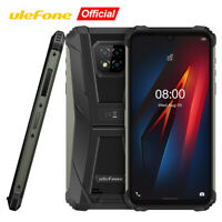 Rugged Unlocked 4G Cell Phone 64GB Smartphone Waterproof Android10 Helio P60 NFC