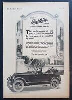 1920 Studebaker Big Six Series 20 Open Top Car Photo Vintage Print Ad