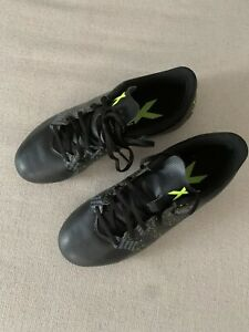 """""""New"""" Adidas Unisex Cleats Size 3.5Y Color Black"""