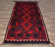 Stunning Maimana Hand-Woven Afghan 100% wool Kilim Rug