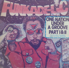 """7"""" 1978 RARE Incl. PROMO SHEET! Funkadelic: ONE NATION UNDER A GROOVE"""