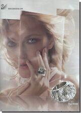 Publicité Advertising 2010 - SWAROVSKI (Advertising paper)