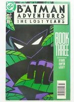 DC The BATMAN ADVENTURES: THE LOST YEARS #3 Key NEWSSTAND VARIANT VF Ships FREE!