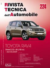 Manuale tecnico per la riparazione e la manutenzione dell'auto - Toyota Rav4