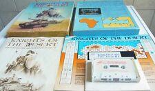 C64: Knights of the Desert - SSI 1983 - Kassette & Disk