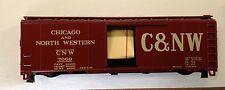 HO KAR-LINE Rolling Stock - C&NW AAR 40' Box Car - Red - Kit - NEW