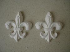 Decorative mouldings Fleur De Lys x2