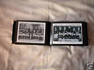 THIRD LANARK F.C PHOTO ALBUM (1950's & 1960's + MORE)
