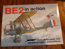 """WW-1, British, BE-2, """"In Action"""" Series."""