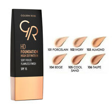 Golden Rose High Definition HD Foundation  Moisture 30ml Oil Free with SPF 15