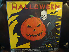 1960'S HALLOWEEN SOUNDS & MUSIC RECORD LP  LIMITED  SEALED