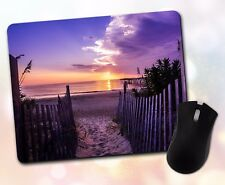Nature ~ Beach, Ocean, Sunrise, Path, Scenic ~ Vivid Mouse Pad 45