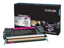 Lexmark C746 Return Programme Toner Cartridge Magenta C746A1MG