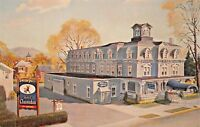 HOTEL CLARENDON HACKETTSTOWN NEW JERSEY-HWY 46 POSTCARD 1960s