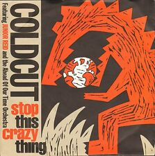 """COLDCUT FEAT. JUNIOR REID - Stop This Crazy Thing   7""""  Single  VG++"""
