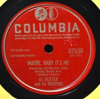 Al Dexter Maybe Baby It's Me 78 Country Western VG++ Love Lanes of Yesterday