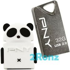 PNY T3 32GB + Panda OTG Adapter 32G USB 3.0 Flash Pen Drive Mobile Android Robot