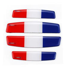 4pc France French Flag Car Truck Door Side Edge Guard Protection Stickers Decals