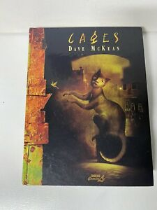 Cages - a comic novel by Dave McKean Kitchen Sink Press 1998 Hardcover