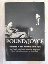 [JAMES JOYCE] POUND / JOYCE THE LETTERS OF EZRA POUND TO JAMES JOYCE 1970 TBE