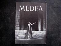 1947 DAME JUDITH ANDERSON Theatre Program 'MEDEA' SIGNED AUTOGRAPH vintage