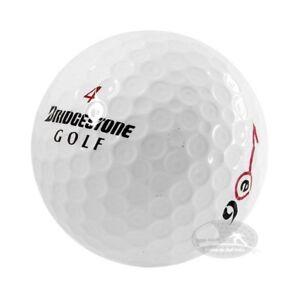 4 Dozzine Bridgestone E- 6/E 6+ 48 Palline da golf usate Cat. 5 Stelle (PEARL)