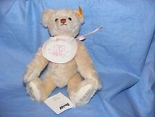 Steiff Personalised Teddy Bear New Baby Birthday Christening Wedding Gift 001758