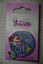 Ariel 5K Disney Pin 2016 Wdw Princess 1/2 Marathon Flounder Lr Noc 114186 New