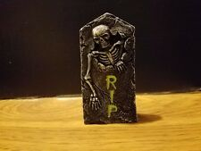 RIP Cement Tombstone D for Barbie, Monster High, Tonner Halloween Dioramas
