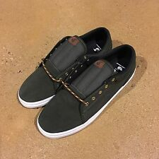 DVS Aversa Men's Size 12 US Army Suede Canvas BMX DC Skate Militia Milan Shoes