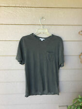 $95 James Perse POCKET HIGH GAUGE JERSEY Crew Neck TEE SZ 3