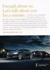 2016 Lincoln MKX - Original Advertisement Print Art Car Ad J896