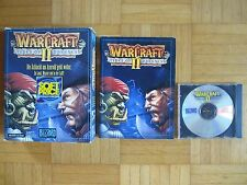 WARCRAFT II CD Sammlerzustand - PC Big Box Boxed 2 3d Fantasy Dungeon rpg action