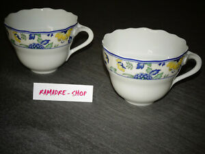 Hutschenreuther Porzellan Maria Theresia Papillon 2 Kaffeetassen in 1.Wahl