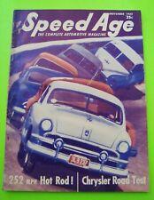 Nov 1952 SPEED AGE Aston Martin ALFA DISCO VOLANTE French Grand Prix OLDS ROCKET