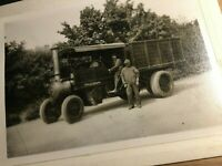 Steam Lorry Wagon Photograph - Middleton Hall Belford